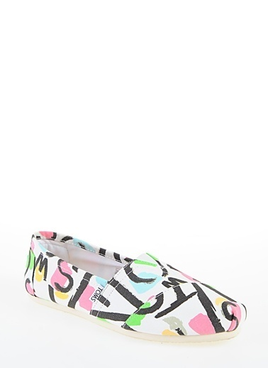 Toms Canvas Abstract Wm Clsc A Beyaz